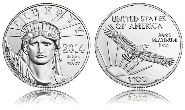 2014 American Platinum Eagle Bullion Coin