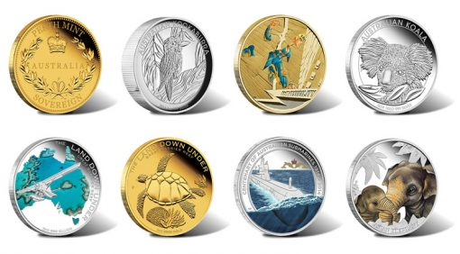 2014 Australian Silver and Gold Coins for April