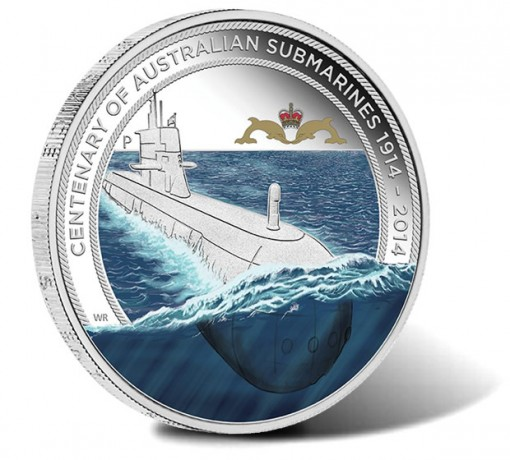 2014 Centenary of Australian Submarines Silver Proof Coin