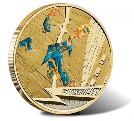 2014 Invisibility $1 Coin