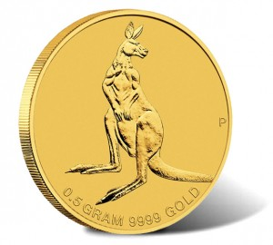 2014 Mini Roo 0.5g Gold Coin