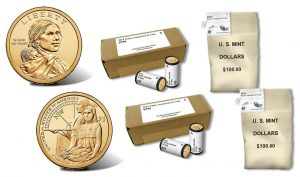 2014 Native American $1 Coins in Rolls, Boxes and Bags