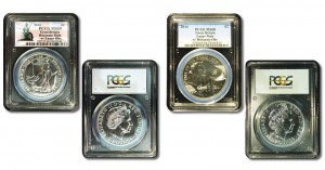 2014 £2 Britannia and Lunar Mule Error Coins Graded by PCGS