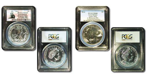 2014 Royal Mint mule errors coins