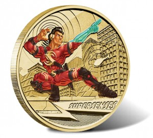 2014 Super Senses $1 Coin