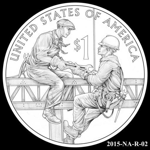 2015 Native American $1 Coin Design Candidate 2015-NA-R-02