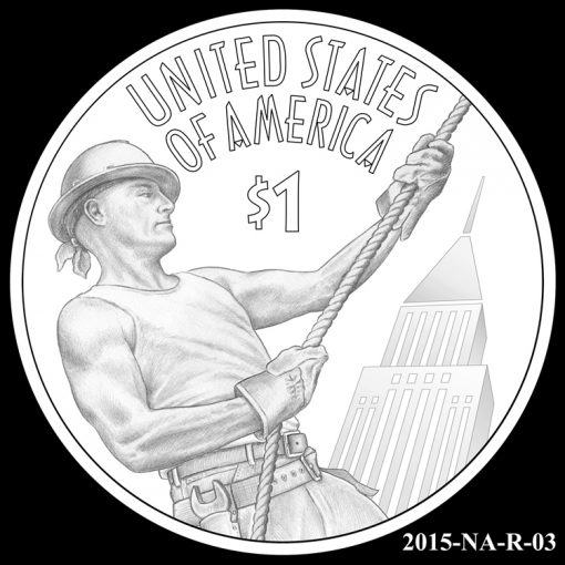 2015 Native American $1 Coin Design Candidate 2015-NA-R-03