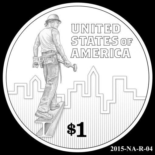 2015 Native American $1 Coin Design Candidate 2015-NA-R-04