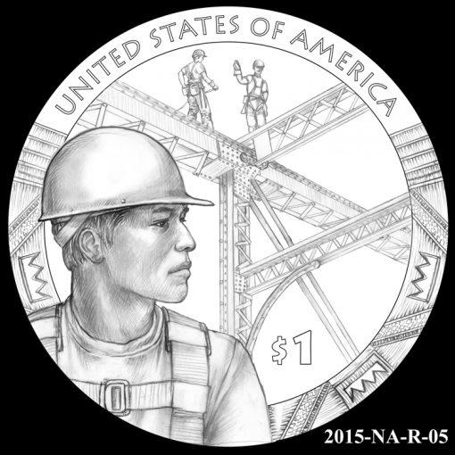2015 Native American $1 Coin Design Candidate 2015-NA-R-05