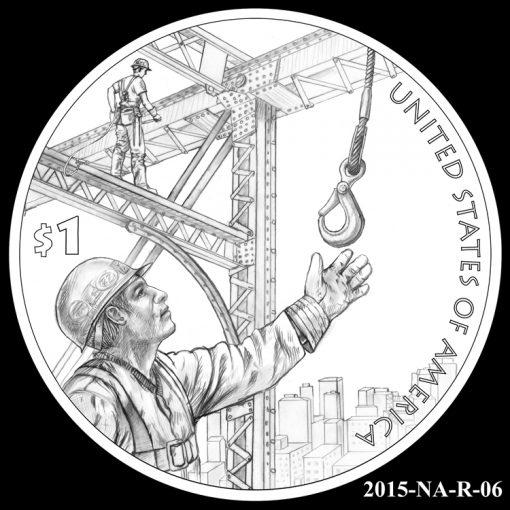 2015 Native American $1 Coin Design Candidate 2015-NA-R-06