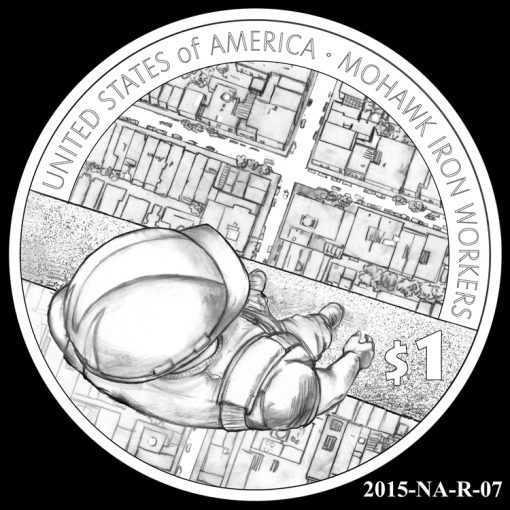 2015 Native American $1 Coin Design Candidate 2015-NA-R-07