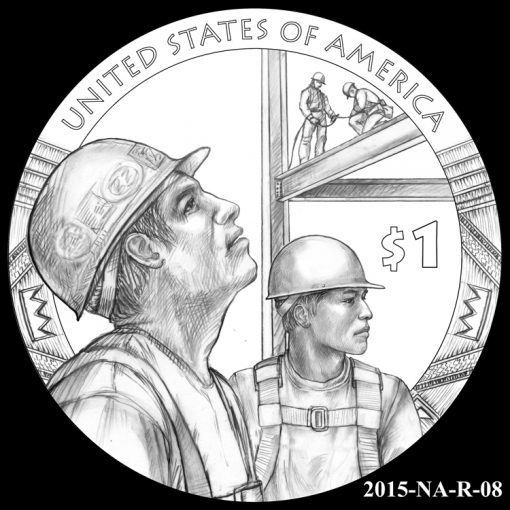 2015 Native American $1 Coin Design Candidate 2015-NA-R-08