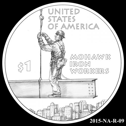 2015 Native American $1 Coin Design Candidate 2015-NA-R-09
