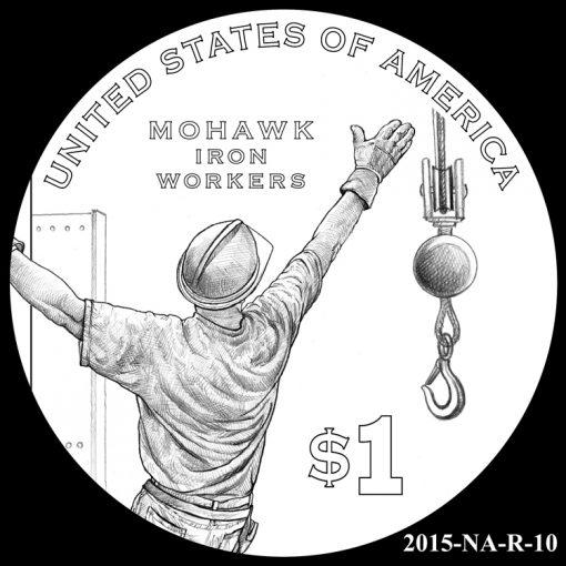 2015 Native American $1 Coin Design Candidate 2015-NA-R-10