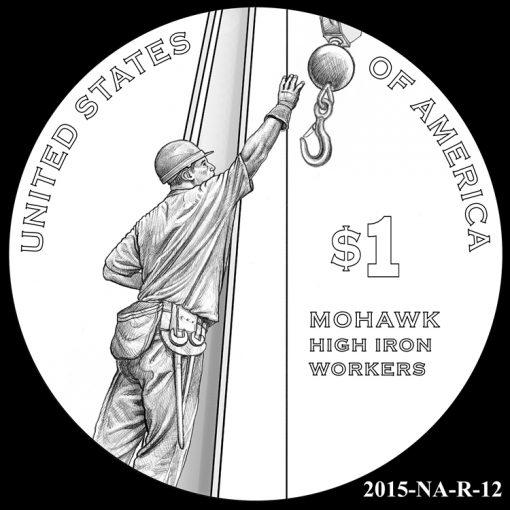2015 Native American $1 Coin Design Candidate 2015-NA-R-12