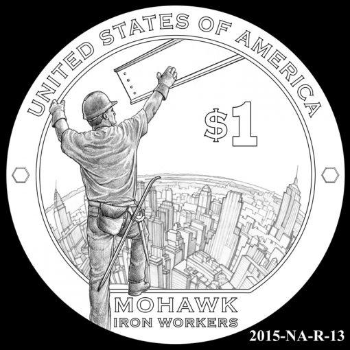 2015 Native American $1 Coin Design Candidate 2015-NA-R-13