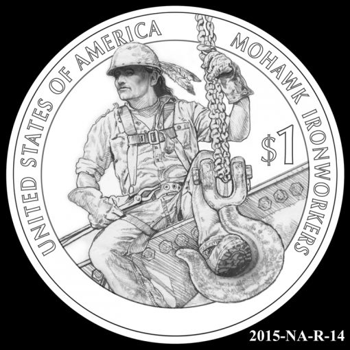 2015 Native American $1 Coin Design Candidate 2015-NA-R-14