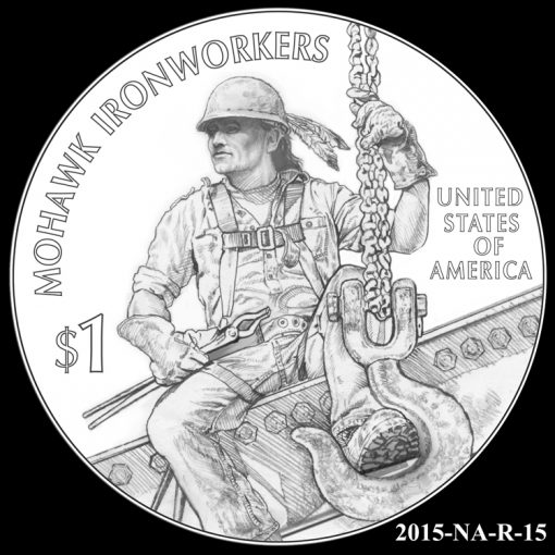 2015 Native American $1 Coin Design Candidate 2015-NA-R-15