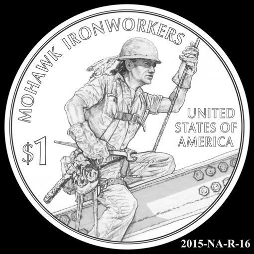 2015 Native American $1 Coin Design Candidate 2015-NA-R-16