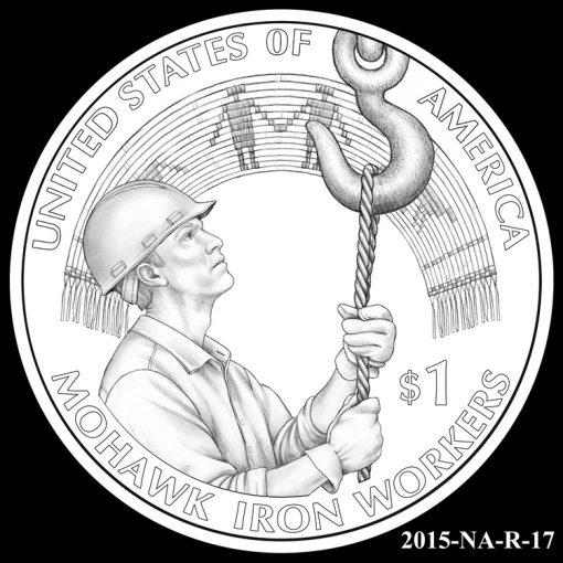 2015 Native American $1 Coin Design Candidate 2015-NA-R-17