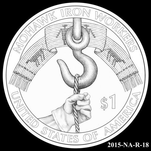 2015 Native American $1 Coin Design Candidate 2015-NA-R-18