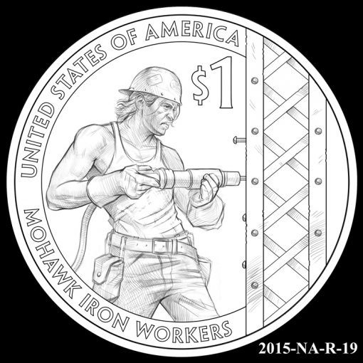 2015 Native American $1 Coin Design Candidate 2015-NA-R-19