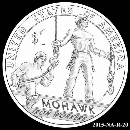 2015 Native American $1 Coin Design Candidate 2015-NA-R-20
