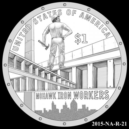 2015 Native American $1 Coin Design Candidate 2015-NA-R-21