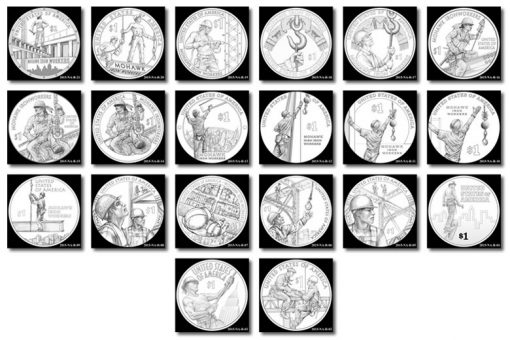 2015 Native American $1 Coin Design Candidates