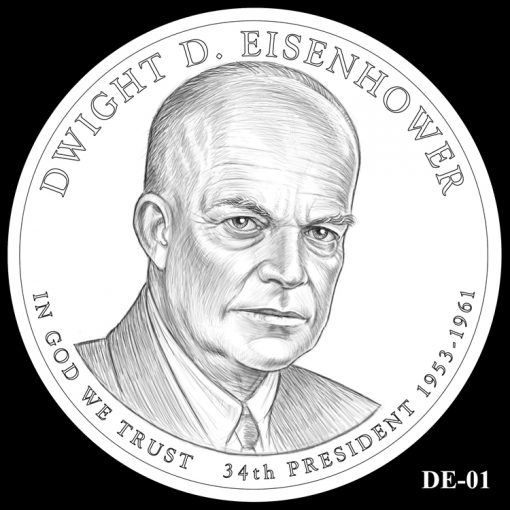 2015 Presidential $1 Coin Design Candidate DE-01