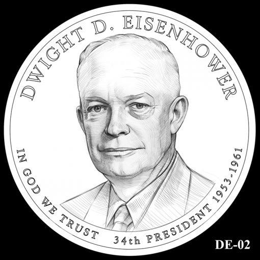 2015 Presidential $1 Coin Design Candidate DE-02