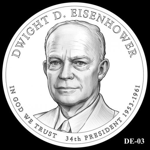 2015 Presidential $1 Coin Design Candidate DE-03