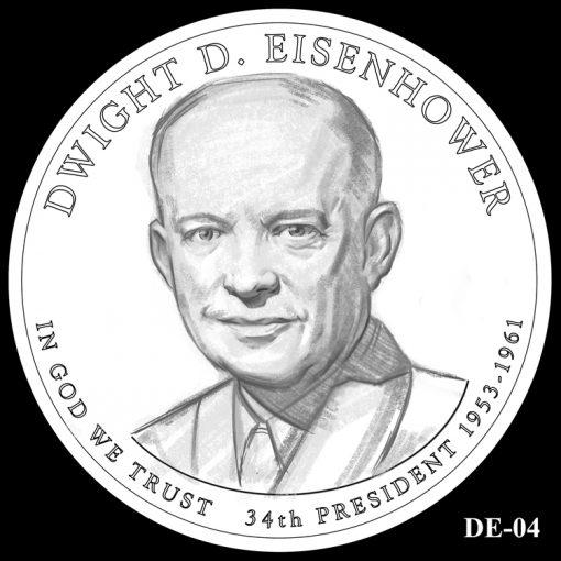 2015 Presidential $1 Coin Design Candidate DE-04