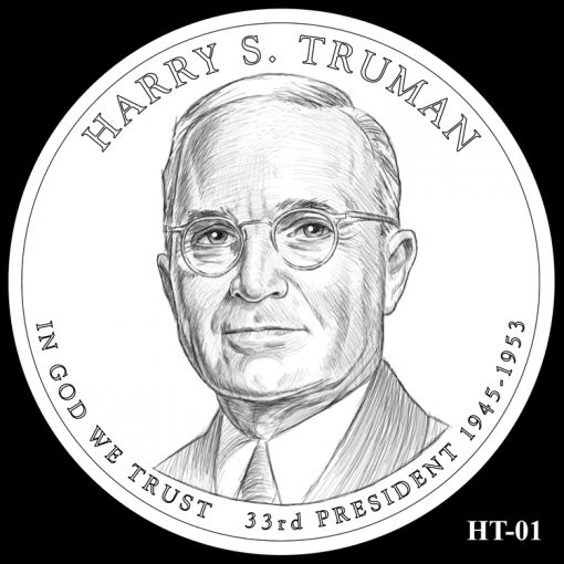 2015 Presidential $1 Coin Design Candidate HT-01