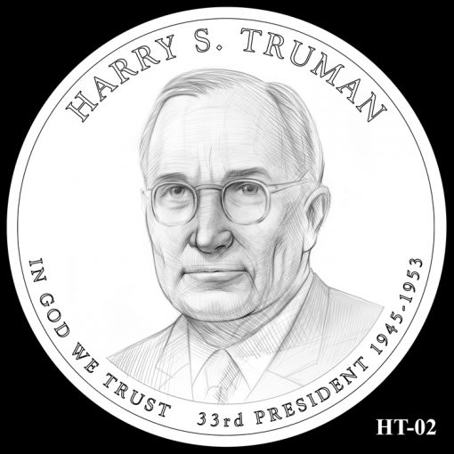 2015 Presidential $1 Coin Design Candidate HT-02