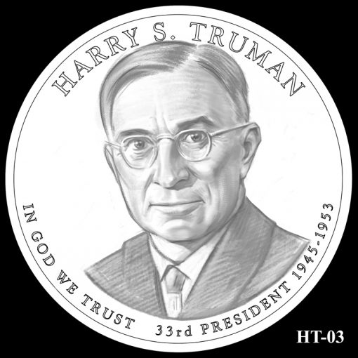 2015 Presidential $1 Coin Design Candidate HT-03