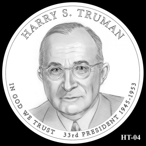 2015 Presidential $1 Coin Design Candidate HT-04