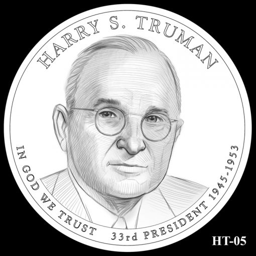 2015 Presidential $1 Coin Design Candidate HT-05