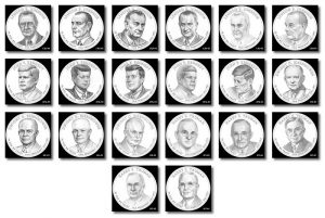 2015 Presidential $1 Coin Design Candidates