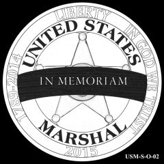 2015 US Marshals Service Commemorative Coin Design Candidate USM-S-O-02