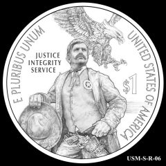 2015 US Marshals Service Commemorative Coin Design Candidate USM-S-R-06