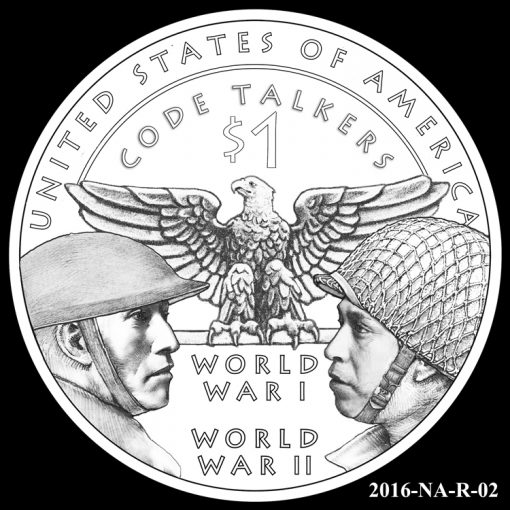 2016 Presidential $1 Coin Design Candidate 2016-NA-R-02