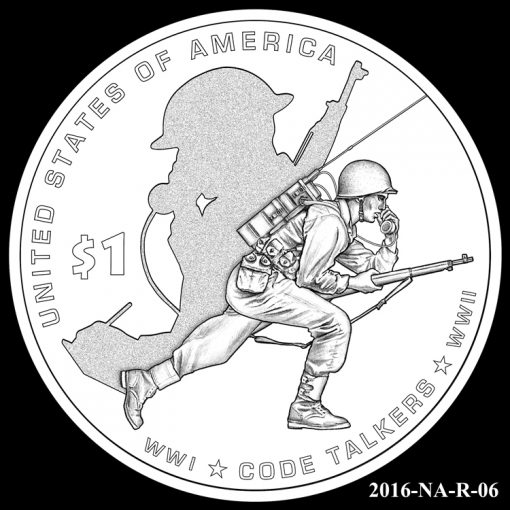 2016 Presidential $1 Coin Design Candidate 2016-NA-R-06