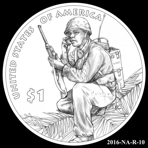 2016 Presidential $1 Coin Design Candidate 2016-NA-R-10