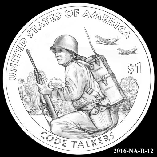 2016 Presidential $1 Coin Design Candidate 2016-NA-R-12