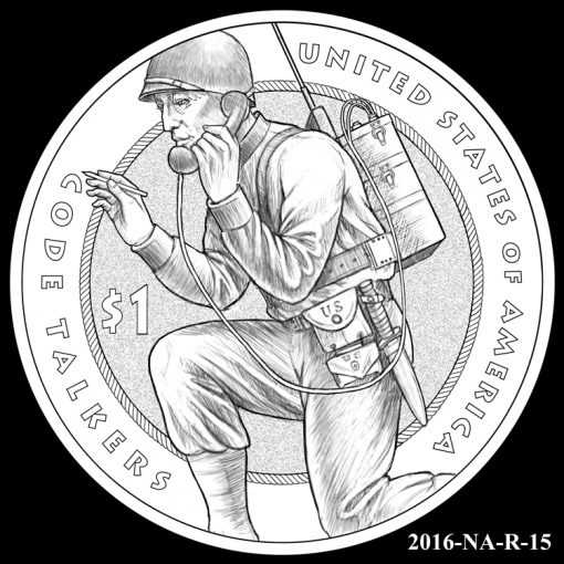 2016 Presidential $1 Coin Design Candidate 2016-NA-R-15