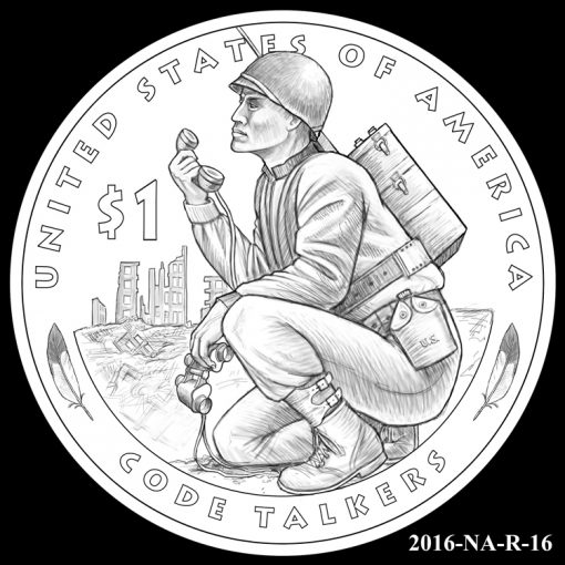 2016 Presidential $1 Coin Design Candidate 2016-NA-R-16
