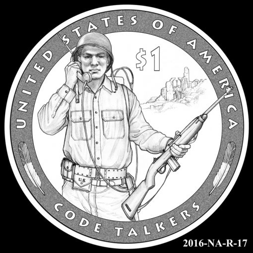 2016 Presidential $1 Coin Design Candidate 2016-NA-R-17