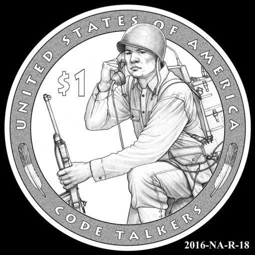 2016 Presidential $1 Coin Design Candidate 2016-NA-R-18