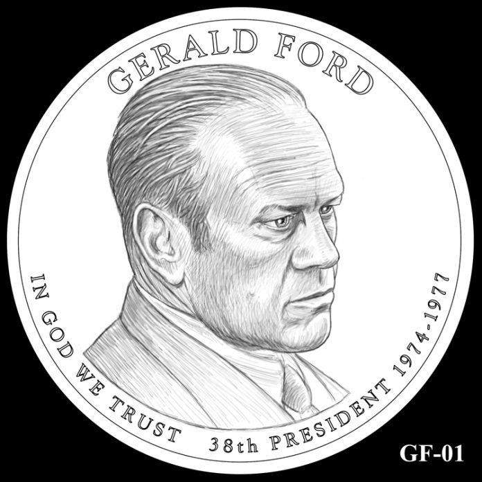 2016 Presidential $1 Coin Design Candidate GF-01